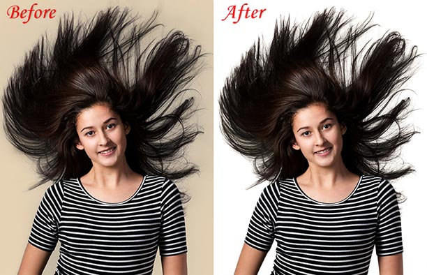 Clipping World Studio/Photo Hair Masking Service